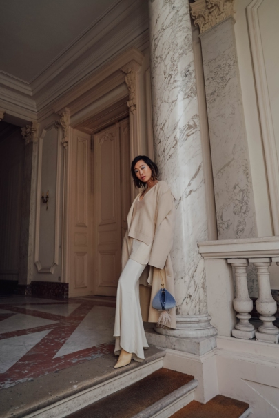 Aimee_song_of_style_nanushka_cream_wool_coat_volon_blue_bag