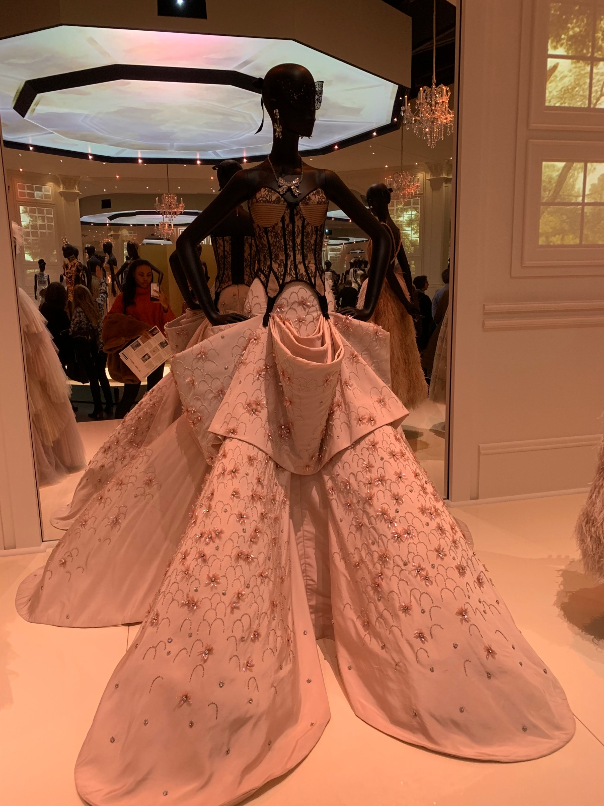 Christian Dior: Designer of Dreams exhibit